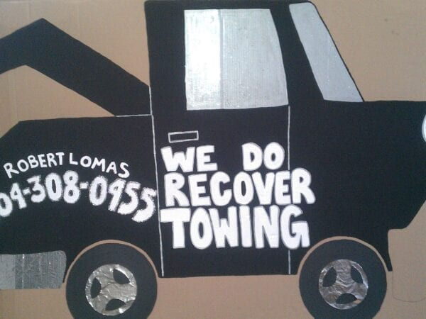 We Do Recover Towing classic logo