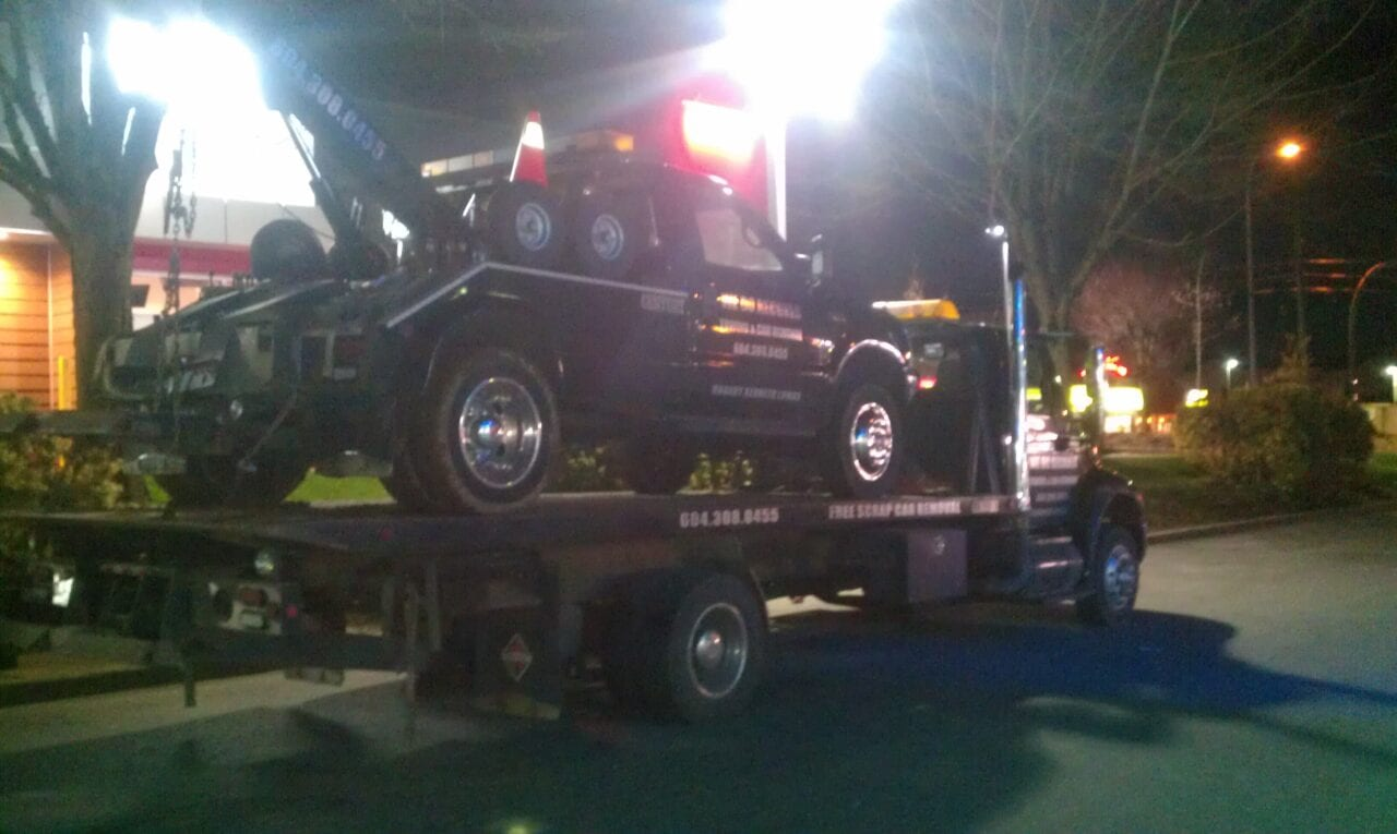 We can tow tow trucks too!
