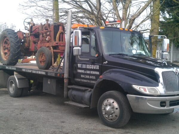 We can tow your classic and delicate machinery