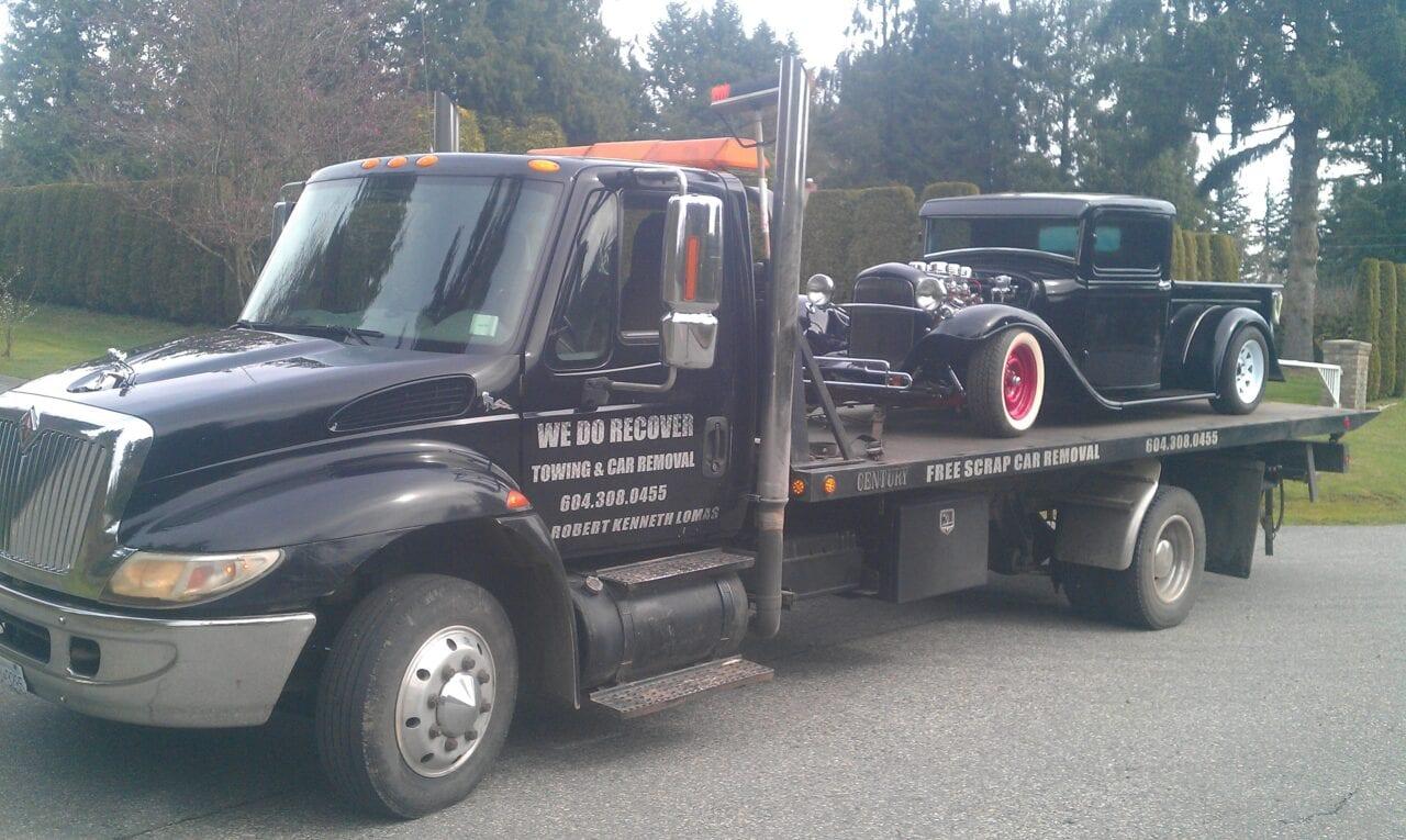 luxury car towing aldergrove