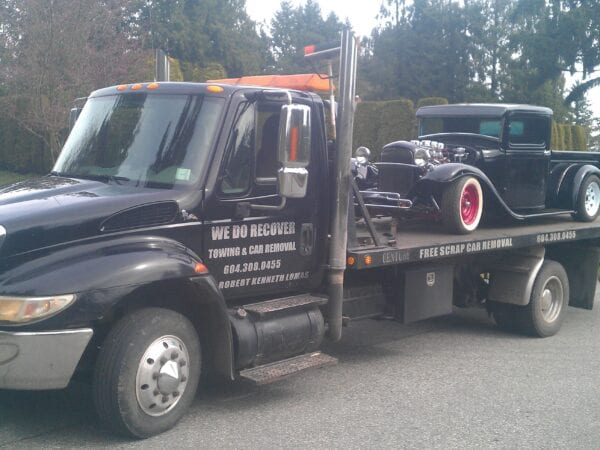 luxury car towing aldergrove