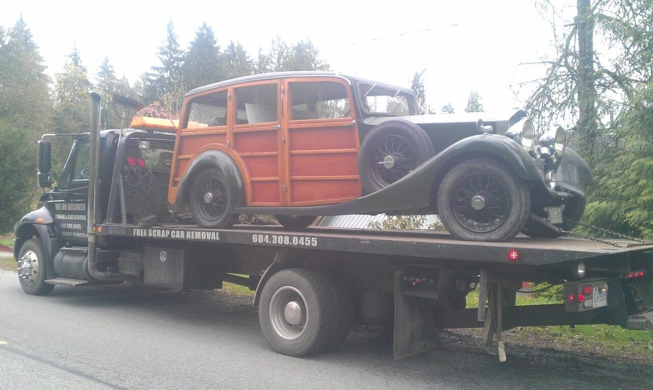 old car transportation langley