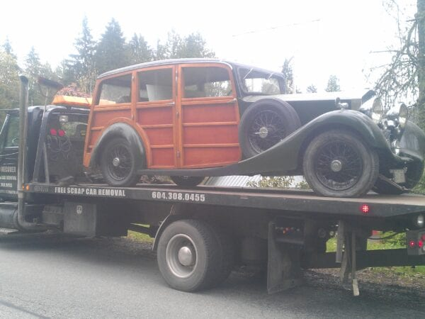old car transportation langley