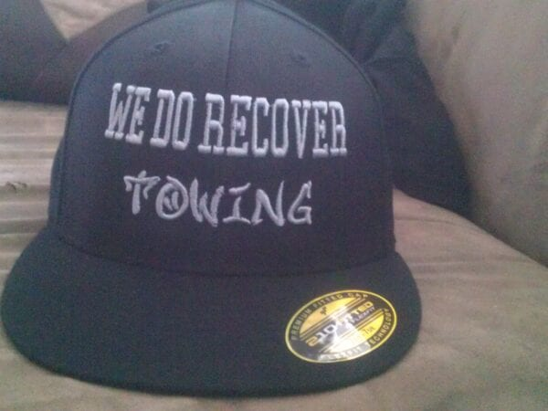 We Do Recover Towing hat