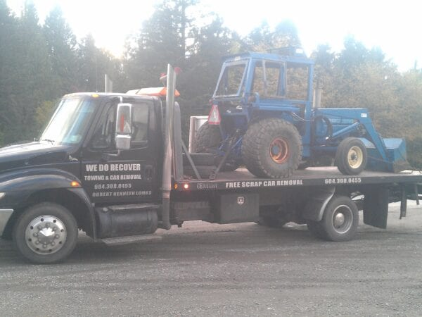 equipment transportation aldergrove