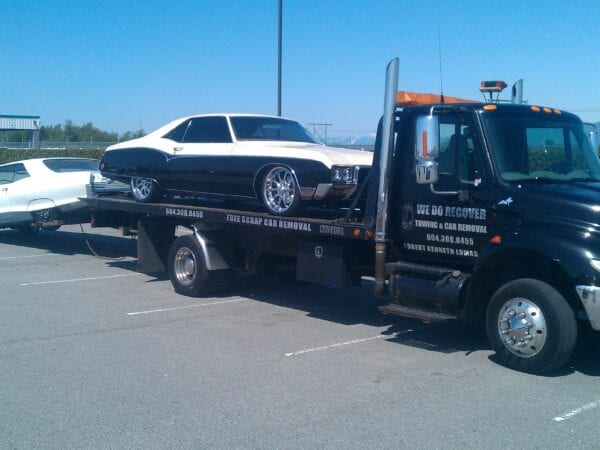 flatbed towing langley