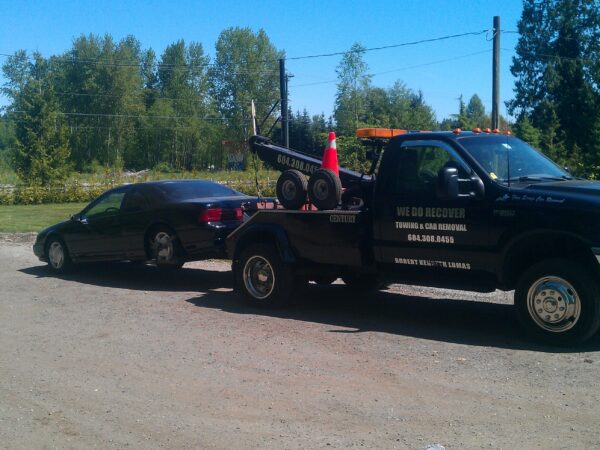 emergency towing langley