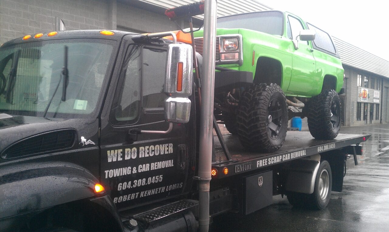 truck transportation and towing langley