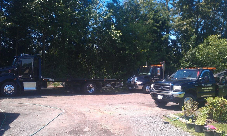 Tow Truck fleet langley