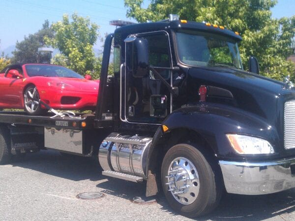 car flatbed towing langley