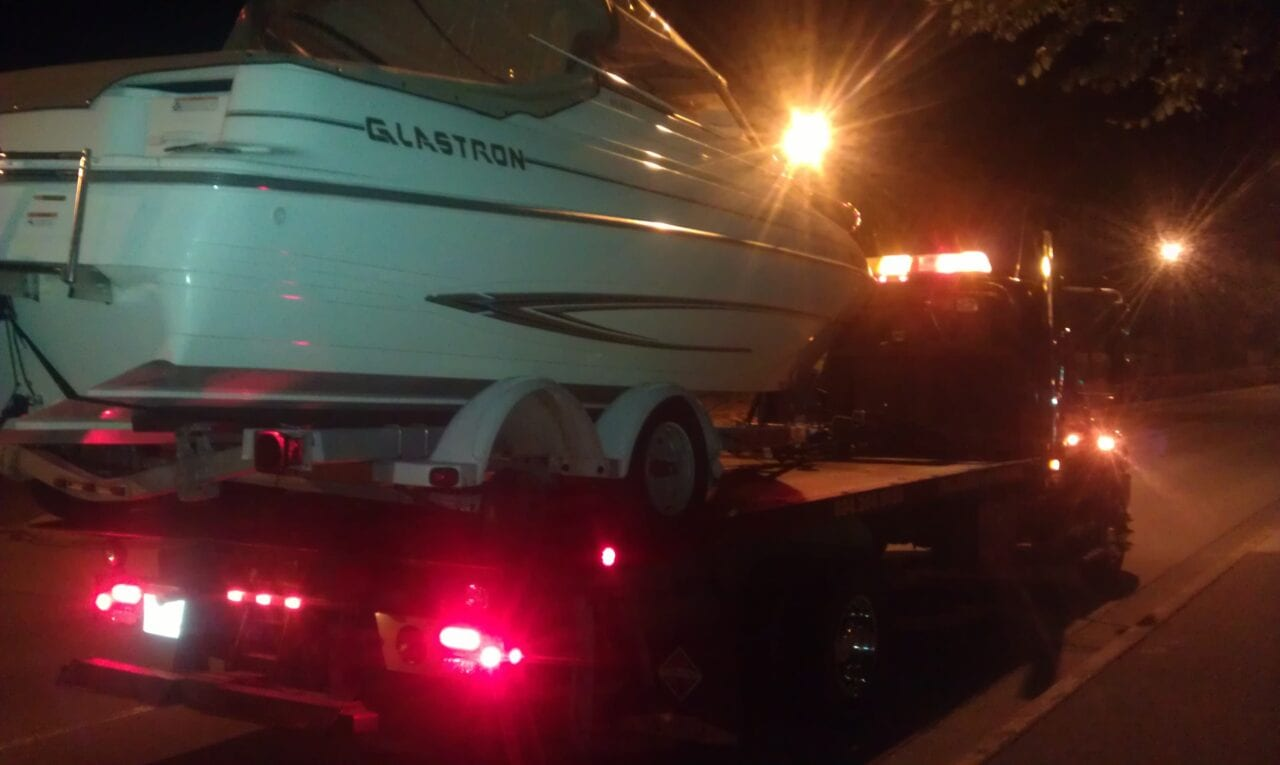 We tow boats too!